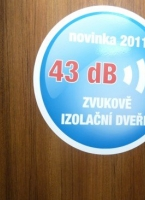 Archiv ESK DVEE: Zvukov izolan dvee 43 dB, s dvojitou polodrkou